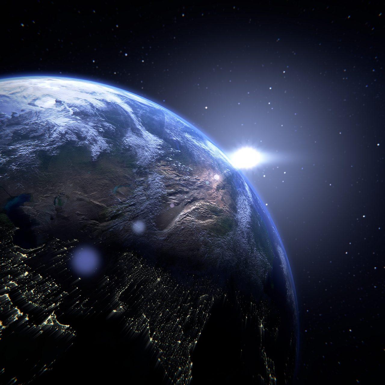 Planet Earth 4K UHD Wallpaper