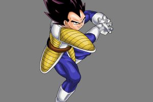 Vegeta in Saiyan Battle Armor (DBZ) 4K