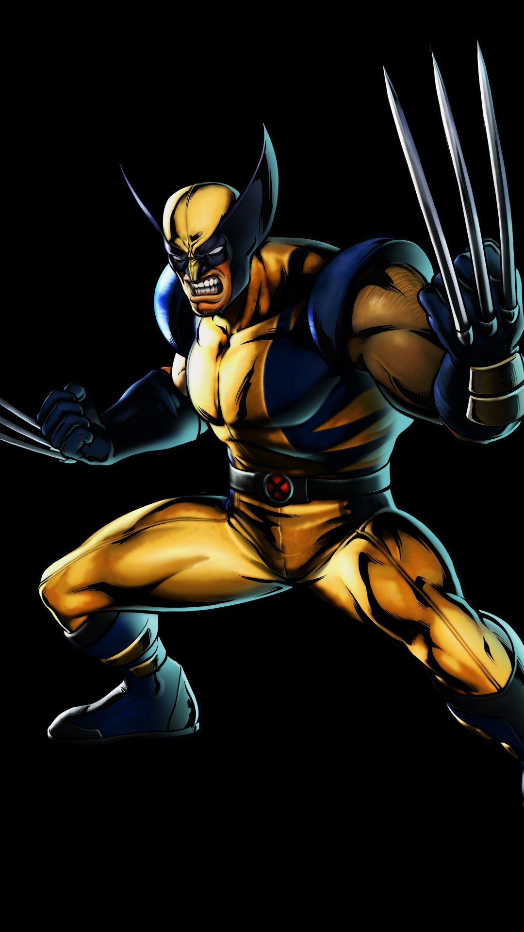 Wolverine (Marvel Comics) 8K UHD Wallpaper