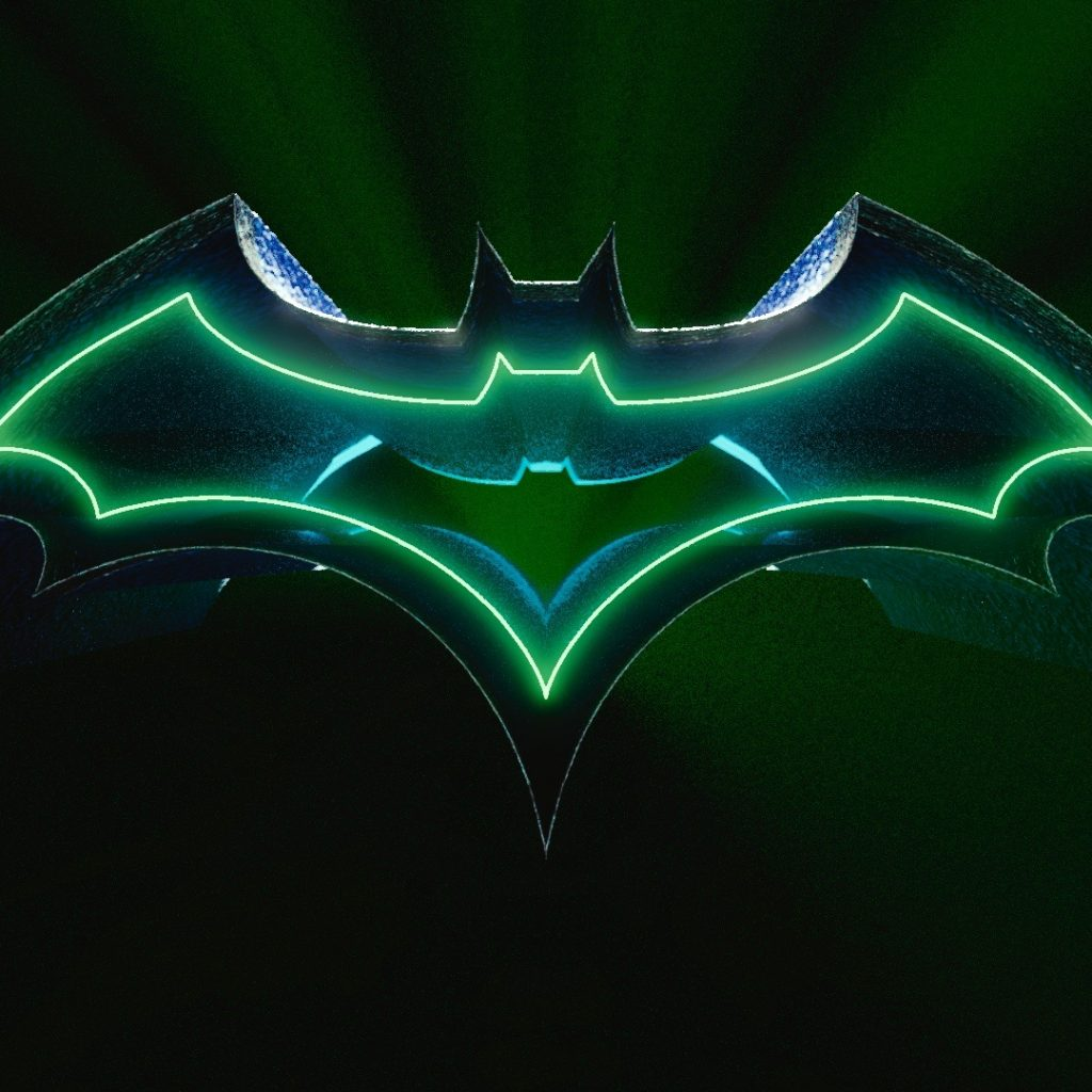3D Batman Logo HD Wallpaper