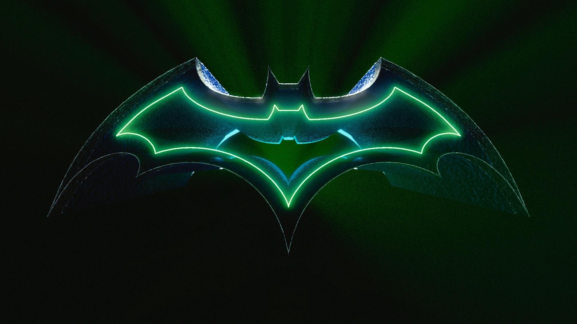 3d Batman Logo Hd Wallpaper