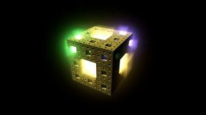 3D Colorful Light Cube HD