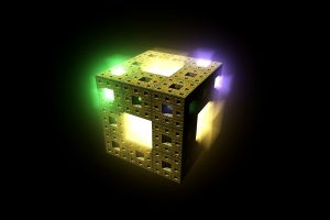 3D Colorful Light Cube HD