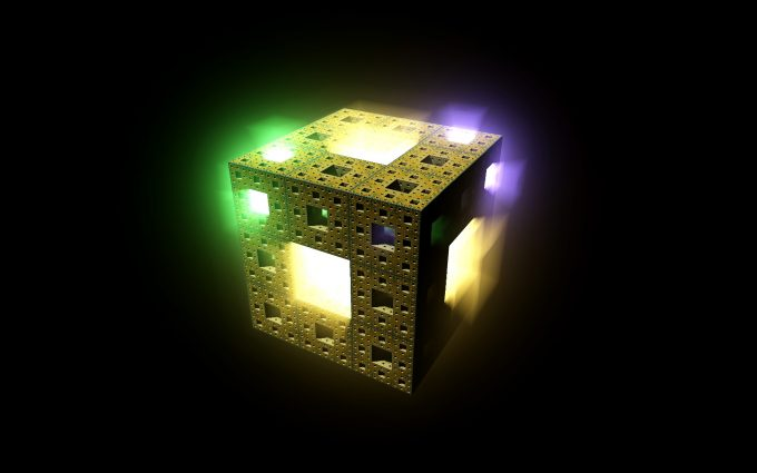 3D Colorful Light Cube