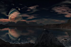 Alien Planet Landscape HD