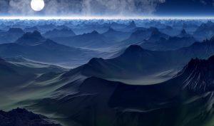 Alien Planet, Mountains 4K