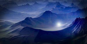 Alien Planet, Mountains 5K
