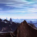 Alien Planet Mountains HD
