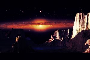 Alien Planet, Red Galaxy HD