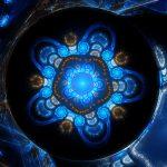 Blue Fractal 4K