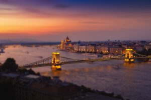 Budapest At Nightfall HD