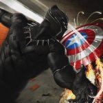 Captain America Civil War 2016 Black Panther vs Captain America 4K