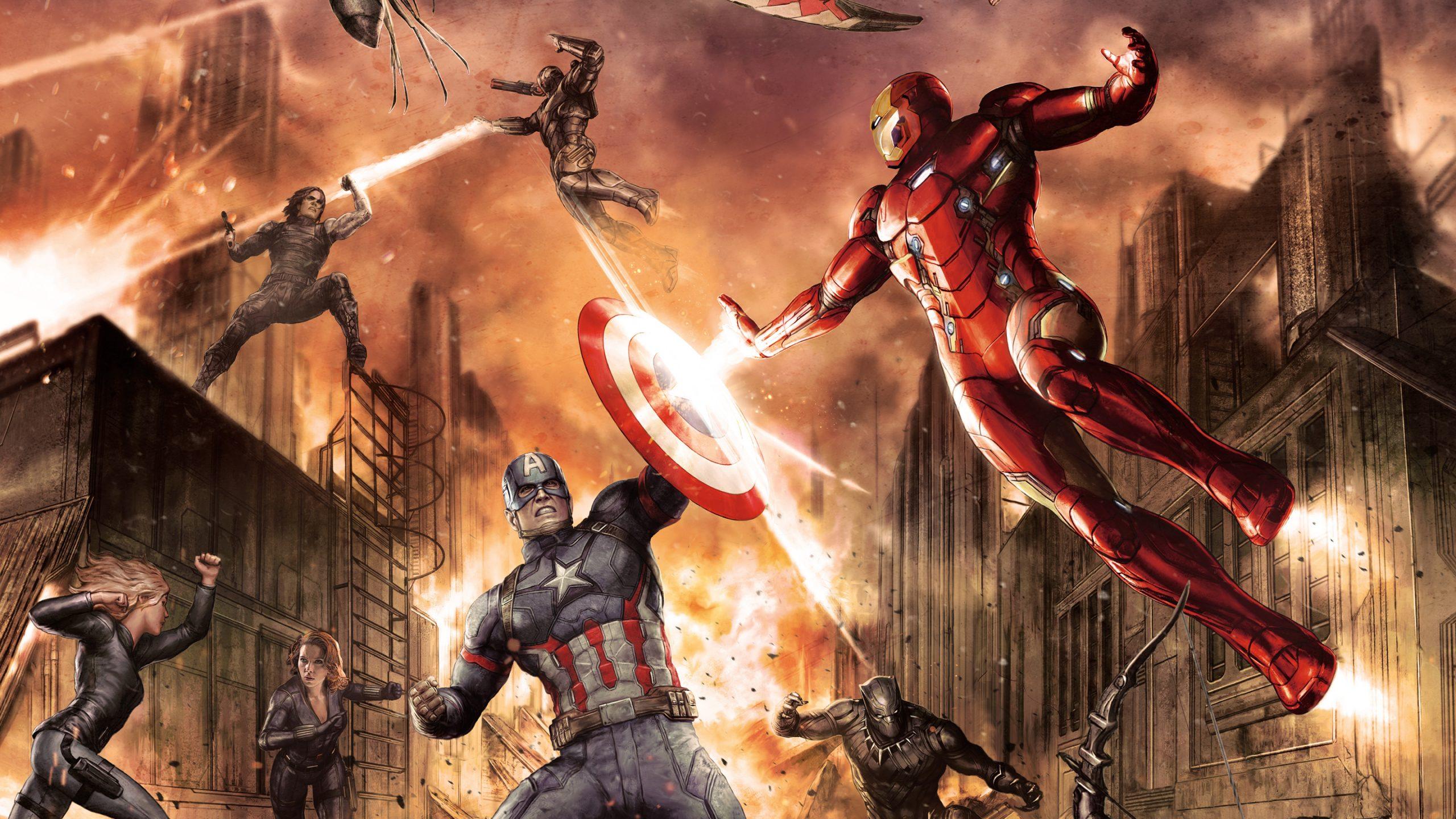 Captain America Civil War 2016 Hd Wallpaper