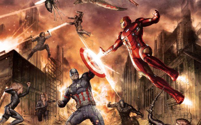 Captain America Civil War 2016 HD