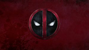 Deadpool Logo (Grunge) HD