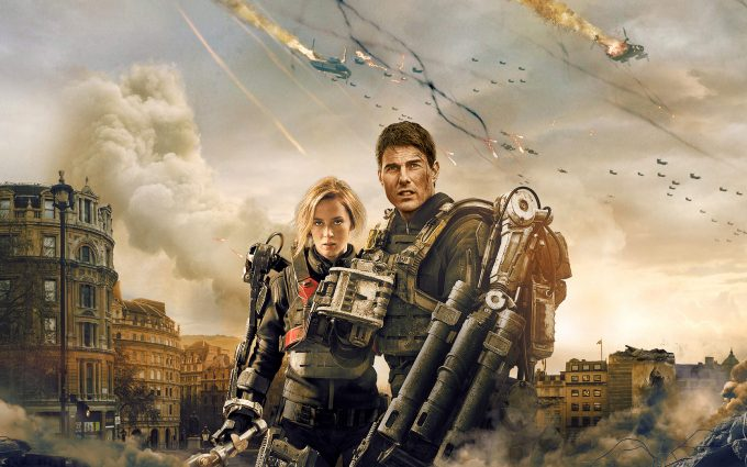 Edge of Tomorrow 2014 Sergeant Rita Vrataski Major William Cage HD