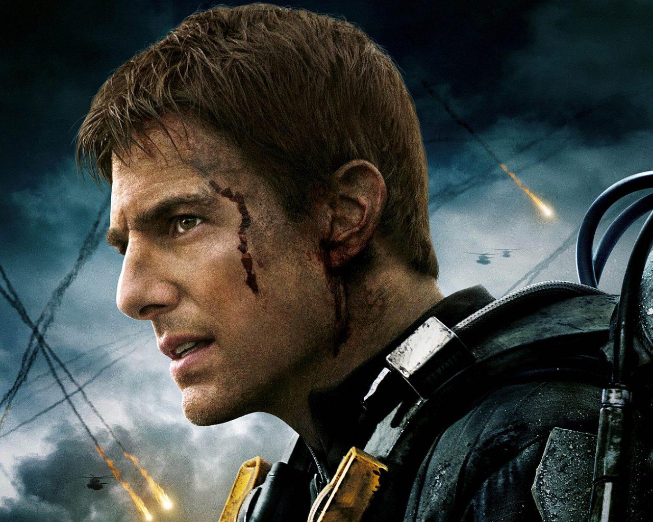 Edge of Tomorrow, Major William Cage, Tom Cruise HD Wallpaper