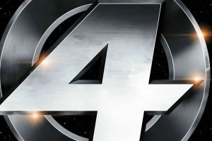 Fantastic Four 2005 Grey Logo HD