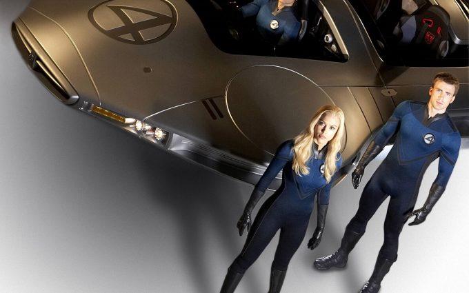Fantastic Four 2005 Team