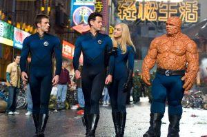 Fantastic Four (2005) The Team HD