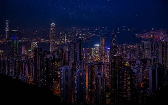 Hong Kong At Night HD