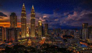 Kuala Lumpur At Night HD