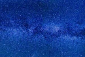 Light Blue Starry Sky 4K