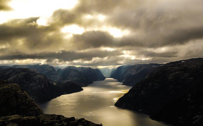 Lysefjord In Norway 5K
