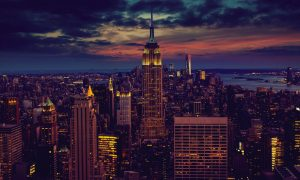 New York City (USA) At Nightfall HD