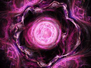 Pink Fractal 4K