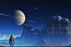 Planetscape Saturn HD 3