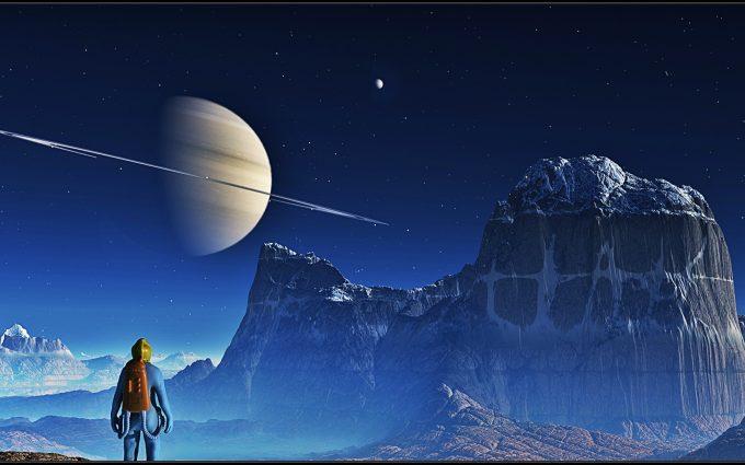 Planetscape Saturn HD 3