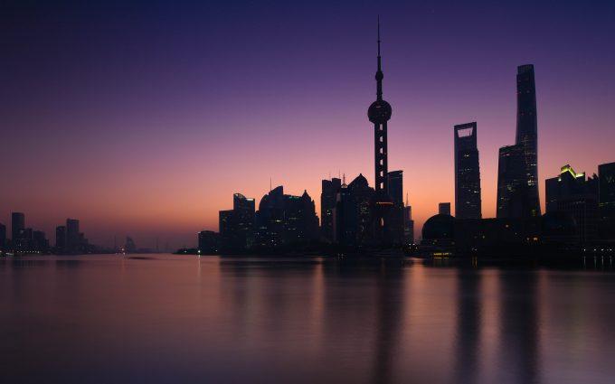 Shanghai At Sunrise 5K