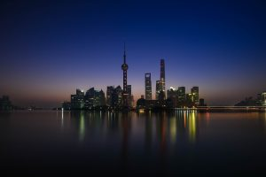 Shanghai At Sunrise (China) 6K