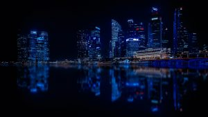 Singapore At Night HD