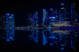 Singapore At Night HD