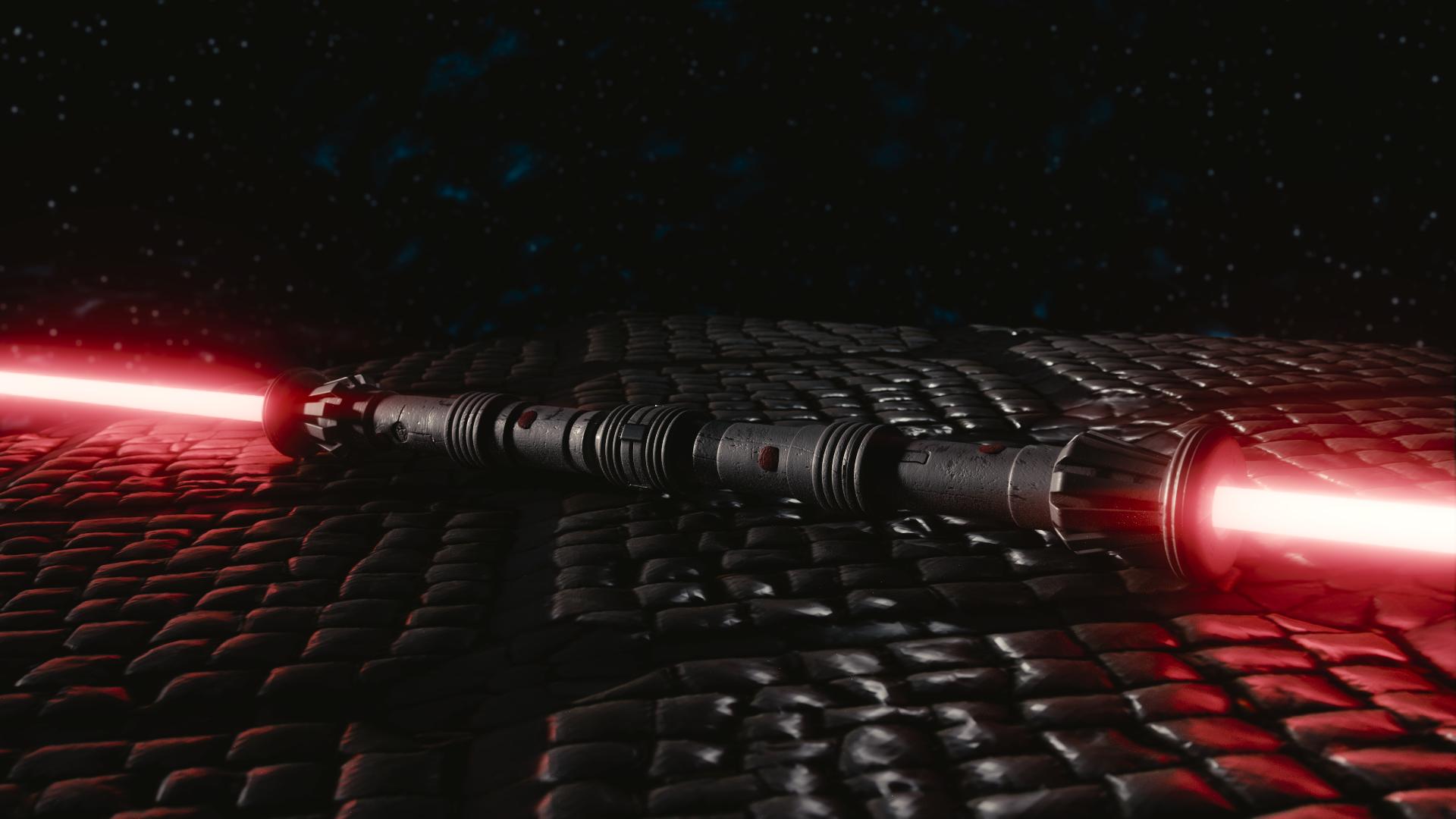 Star Wars Darth Maul Lightsaber HD