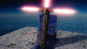 Star Wars Kylo Ren's Lightsaber HD