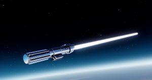 Star Wars White Lightsaber HD