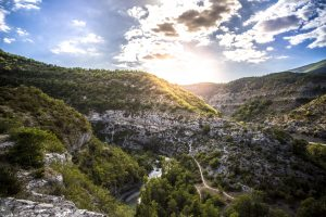Sunrise Over The Mountains (Les Gorges du Verdon – France) 5k
