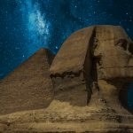 The Great Sphinx of Giza With Milky Way HD