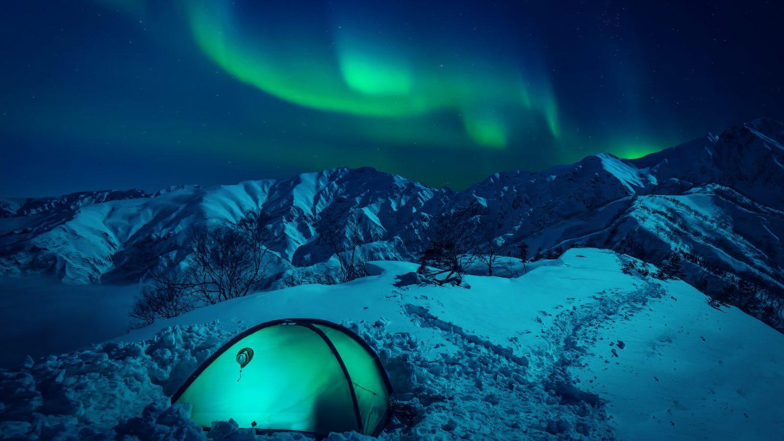 Wallpapers En Hd: The Northern Lights HD Wallpaper HD Wallpaper