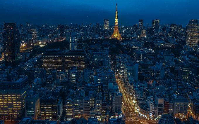 Tokyo At Night HD
