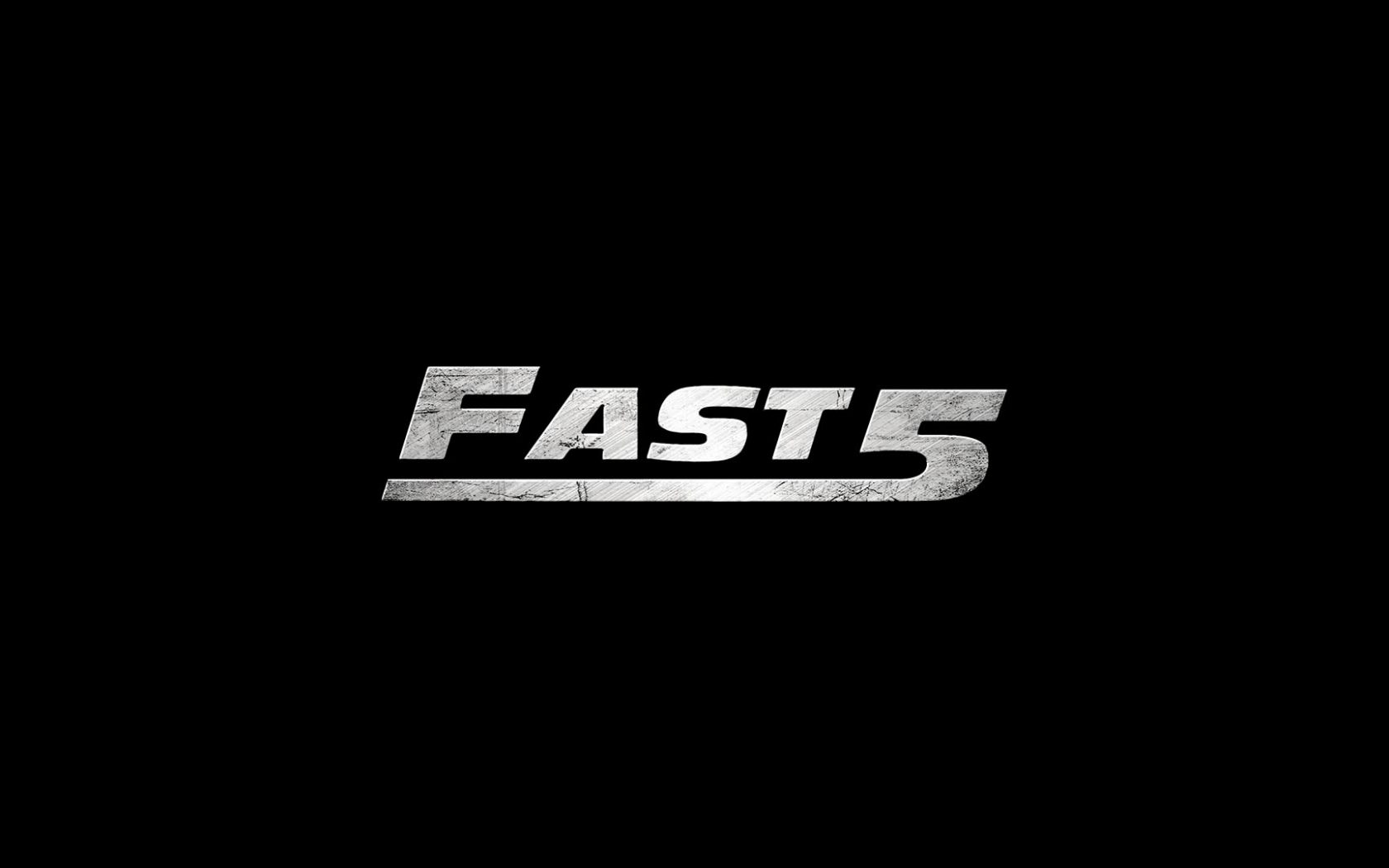 Fast Five Logo (2011) HD Wallpaper