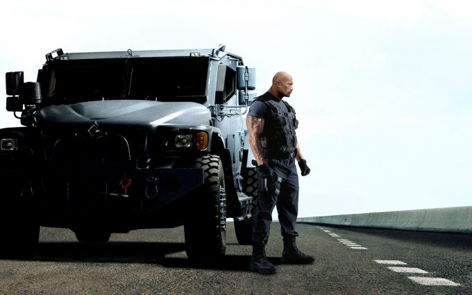 Fast Furious 6 2013 Dwayne Johnson HD