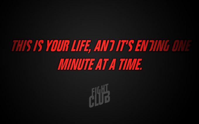 Fight Club 1999 Quote
