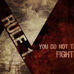Fight Club 1999 Rule 1. HD