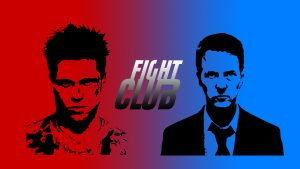 Fight Club (1999) Tyler Durden and The Narrator HD