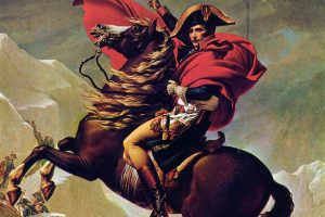 Napoleon Crossing the Alps (Charlottenburg version) HD
