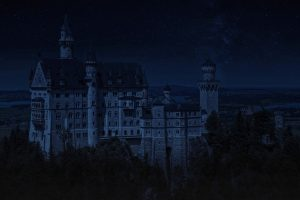 Neuschwanstein Castle At Night HD